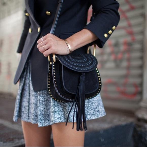 f925f03fdc1 Chloe Hudson mini suede shoulder bag